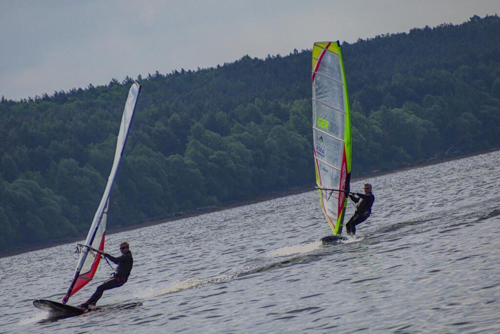 Windsurfregatta beim Muldesegler e.V.