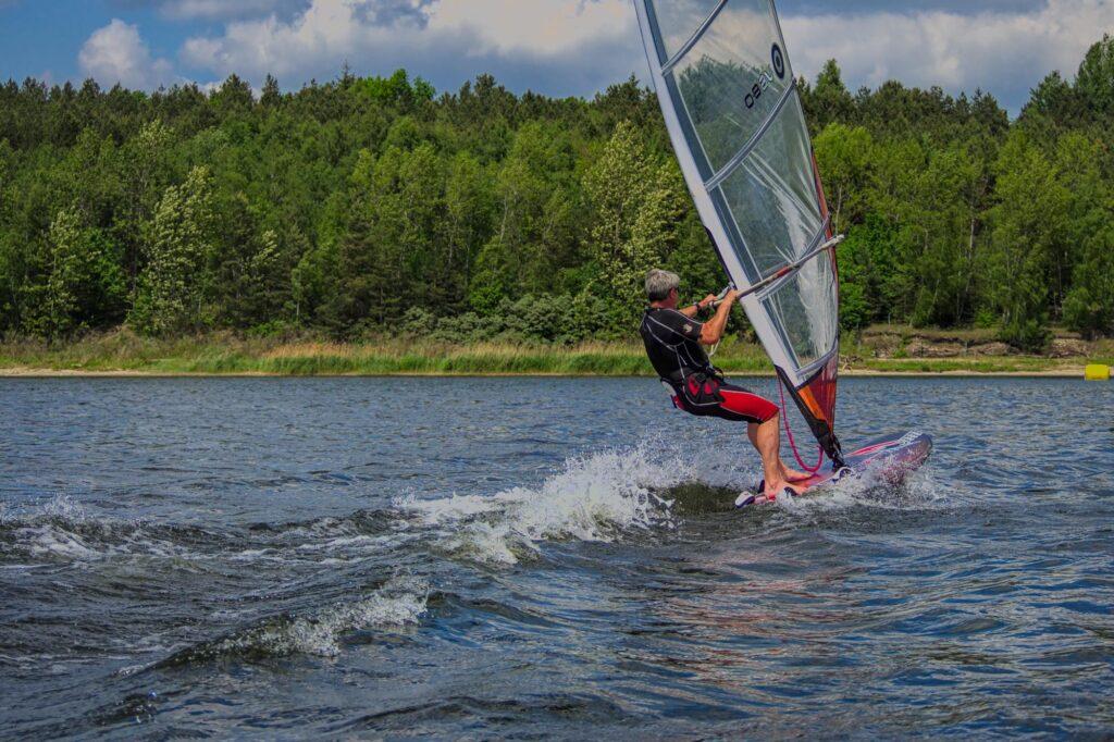 Windsurfen beim Muldesegler e.V.